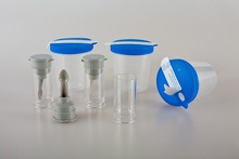 China manufacture disposable sterile urine/stool specimen collection cup