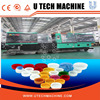 Fully automatic pet plastic bucket bottle stretch injection blow moulding machine