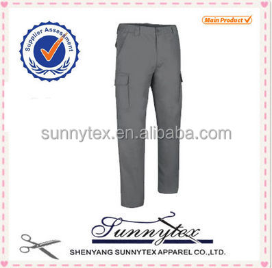 Mens Winter Working Pants with side pockets