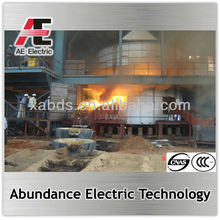 submerged arc furnace for producing varisou ferrosilicon and ferrochrome and ferronickel