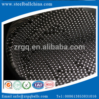 2017 New Hot sales 7/32 &amp quot 6mm solid glasss ball carbon steel with SGS certificate