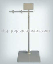 pop floor stand/sign holder/pop display