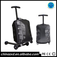 waterproof pc luggage bags & cases with three strong wheels
