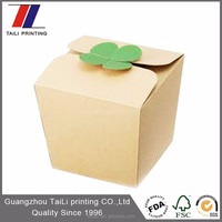 Custom take away disposable #8 pulp food container