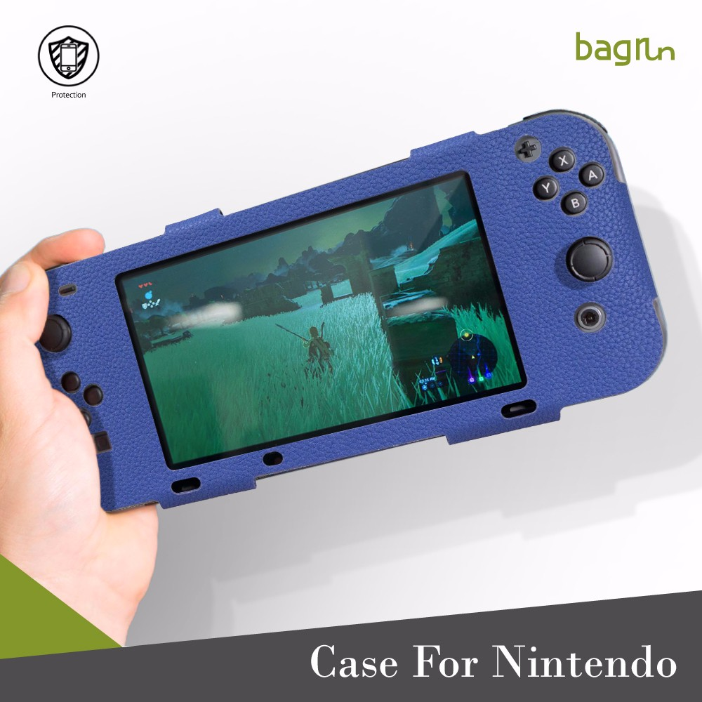 Hot Selling PU Leather Carrying Case For Nintendo Switch