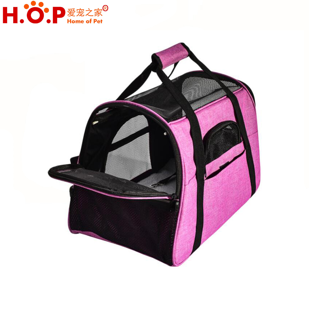 Lightweight Comfortable Soft Sided Breathable Pet Carrier Pet Travel Carrier Bag
