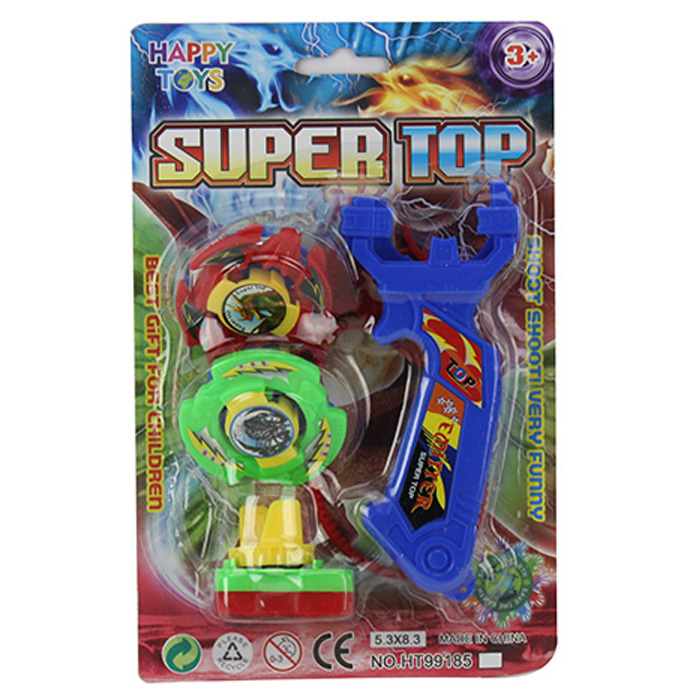 Super bounce spinning top toy for children
