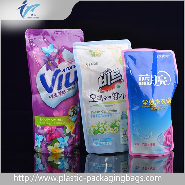 China wholesale plastic bags for packing washing liquid