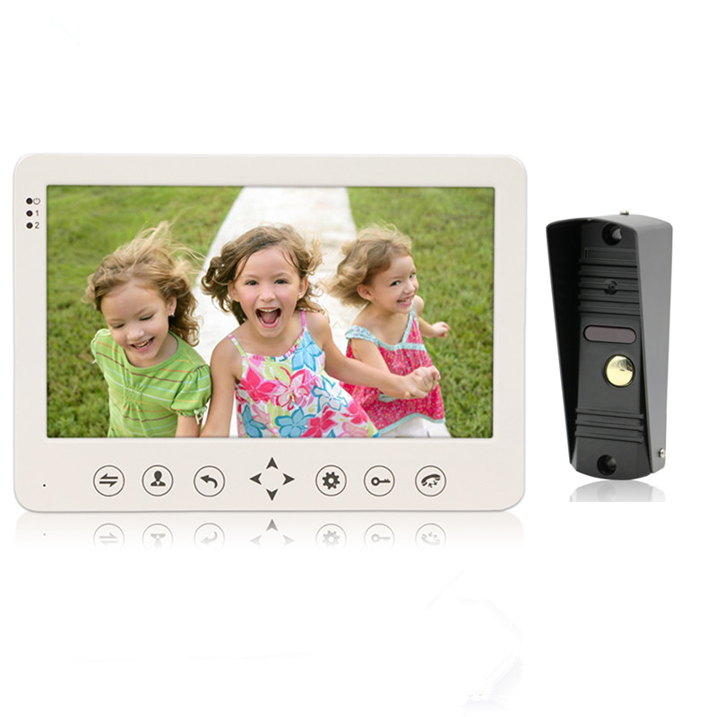 Bcomtech promotion kit 7 inch analog video door phone intercom system
