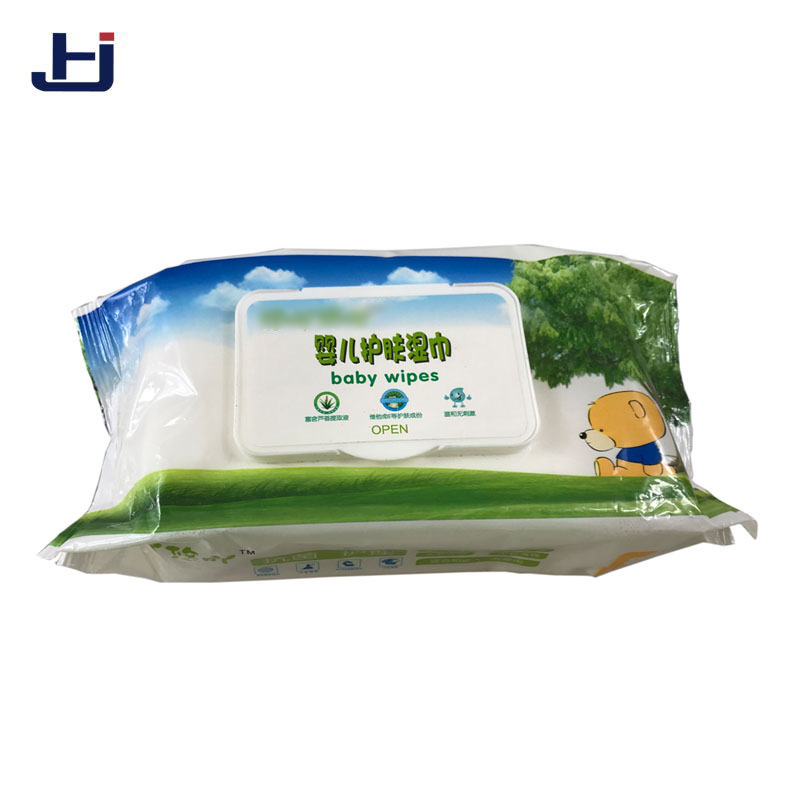Cheap organic soft cotton non-woven fabrics baby wet wipes