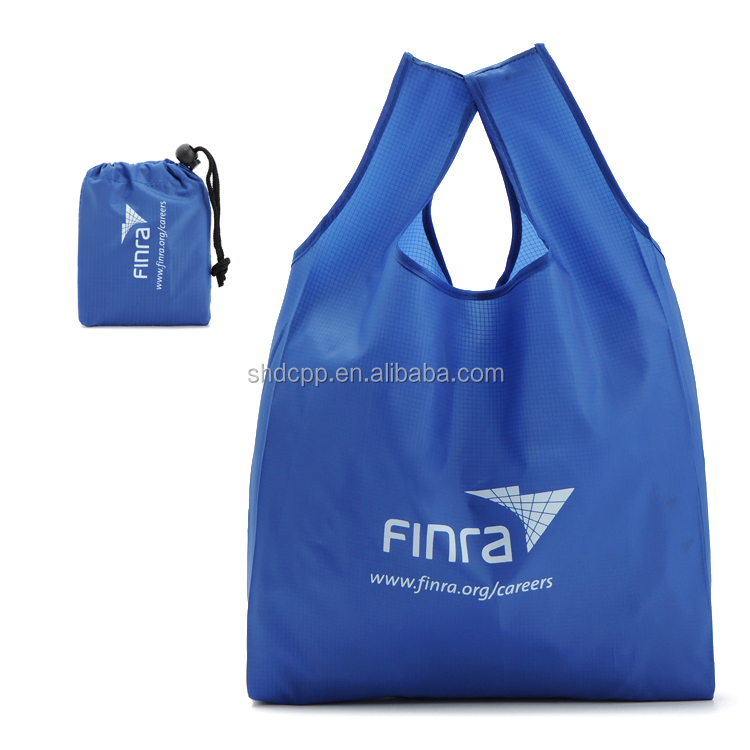 mesh nylon foldable collapsible shopping bag