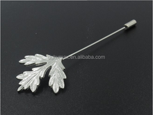 Manufacture product maple leaf brooch pin for women