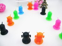 Mini Silicone Android Robot Mobile Phone Holder,Cute Android Shape Mobile Phone Holder Stand