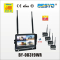2.4G digital 4 quad wireless camera systerm BY-08319WR-1