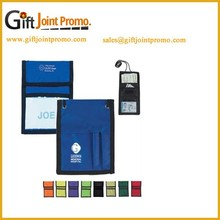 Wholesale Polyester ID Badge Wallet, Tradeshow Card Holder with Wallet