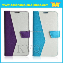 cheap flip leather mobile phone leather case for ZTE V5