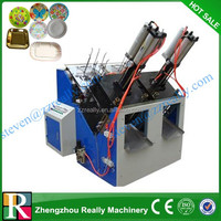 Disposable Paper Plate Machine/ small paper plate machine/Small Manufacturing Machines at Home