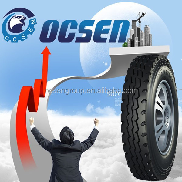 cheap chinese OCSEN/KUNYUAN 6.50R16 airless tyre for sale