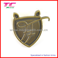wholesale custom logo metal plate metal logo plate for handbag furniture logo plate