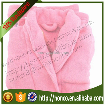 Top Quality Microfiber Bathrobe Soft Quick Dry Microfiber Terry Bathrobe BSCI approved factory