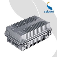 SAIP/SAIPWELL 255*146*90 New Aluminum Box Distribution Enlosure IP66 Protection Level Amplifier Aluminum Case