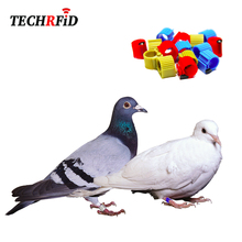 Standard FDX-B Animal Tracking RFID Racing Pigeon Chip Ring