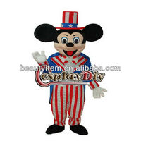 cheap cartoon Character American Mickey Mouse Mascot Costume
