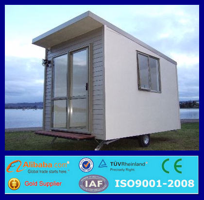 Cheap prefab portable cabin container house with wheels view container house with wheels - Mobile homes in greece practical solutions for perfect holidays ...