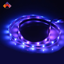 DC5V Full color rgb led ribbon,white/black PCB flexible led strip apa102
