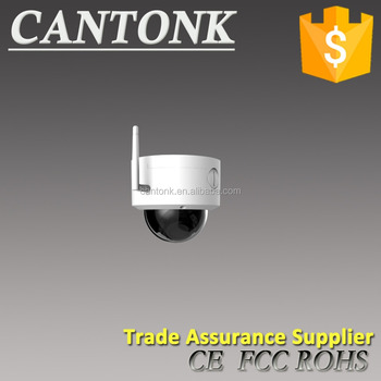 2017 Cantonk new outdoor dome low cost onvif 1080p 4pixels 30m wifi wireless IP CCTV security camera With SD Card Slot