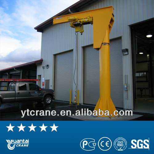 BZ Type ground mounted mini jib crane