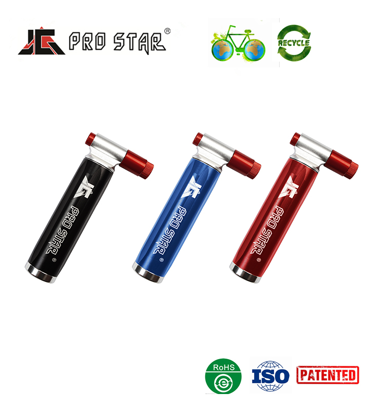 High quality bicycle parts 16g Cartridge CO2 bike air inflator