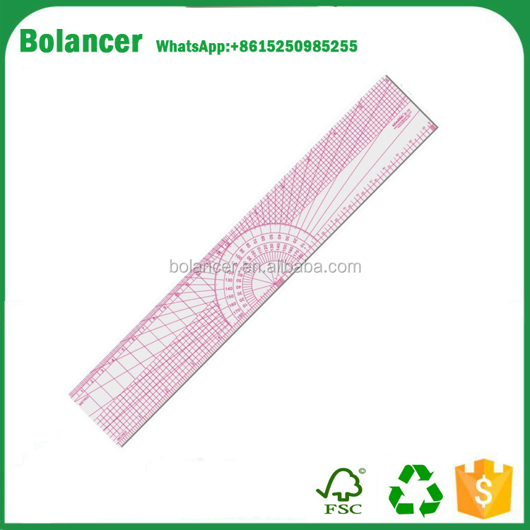 manufacture all kinds of practical plastic designer scale ruler