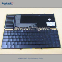 Original Laptop keyboard for Fujitsu AH532 Russian Black frame
