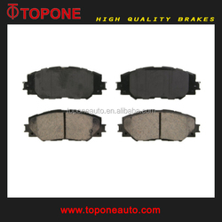 Chinese auto parts manufacturer brake pad D2274 For LEXUS/ TOYOTA OE:0446502220 0446512610 0446542160