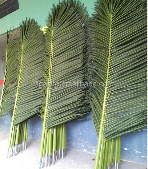 1.8mL artificial plastic coconut palm tree leaf EZLY02