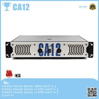 New design CA audio system sound power amplifier dj equipment