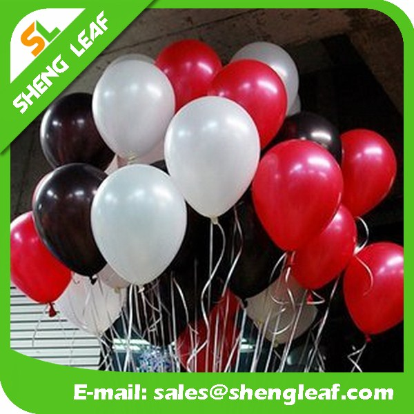 Customized 100% Natural Latex helium water Balloons