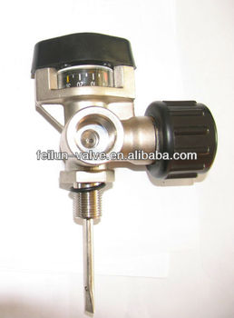 QF-H30B High Pressure SCBA Valve with Manometer(SCBA Equipment parts)