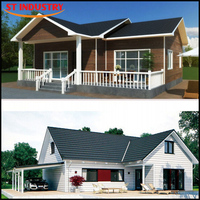 Customized high standard luxurious Flat-pack prefab house suriname