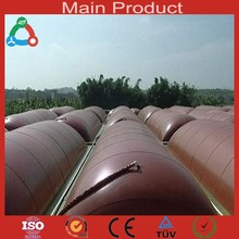 Household / Factory / Industry Use Lagoon Biogas Plant Bio Digester Methane Gas Tank
