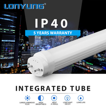 5 year warranty , DLC certified 1200mm 18W 1800lm LED T8 tubes for North American Markets