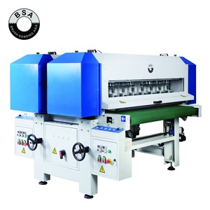 Unisander Machine for Brush Sanding Wood with Deep Profiles