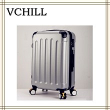 3pcs Set Printed Hard Shell Luggage VC-7289,ABS/PC Trolley Suitcase With Factory Price.
