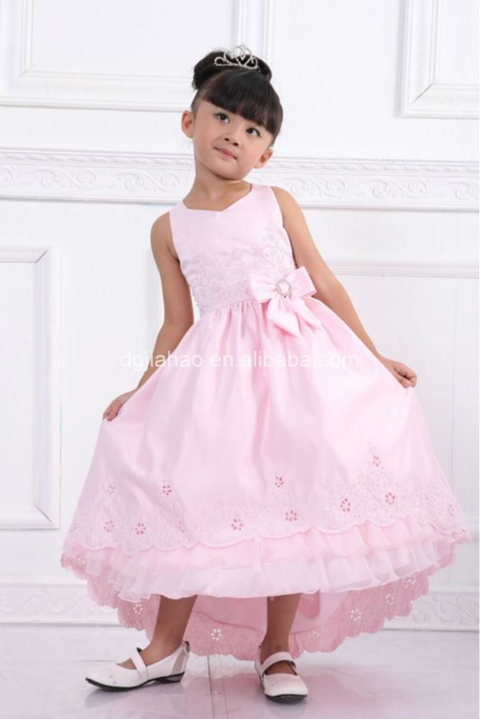 Best selling classic elegant 2012 new design flower girl dress