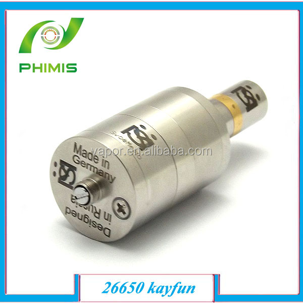 28.5 mm diameter and unique design,huge Tank atomizer 26650 kayfun lite plus