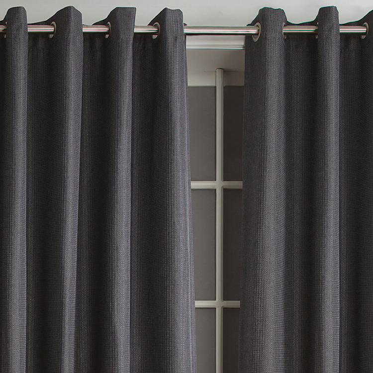 Lattice printing ready made canopy bed roman blackout window curtain