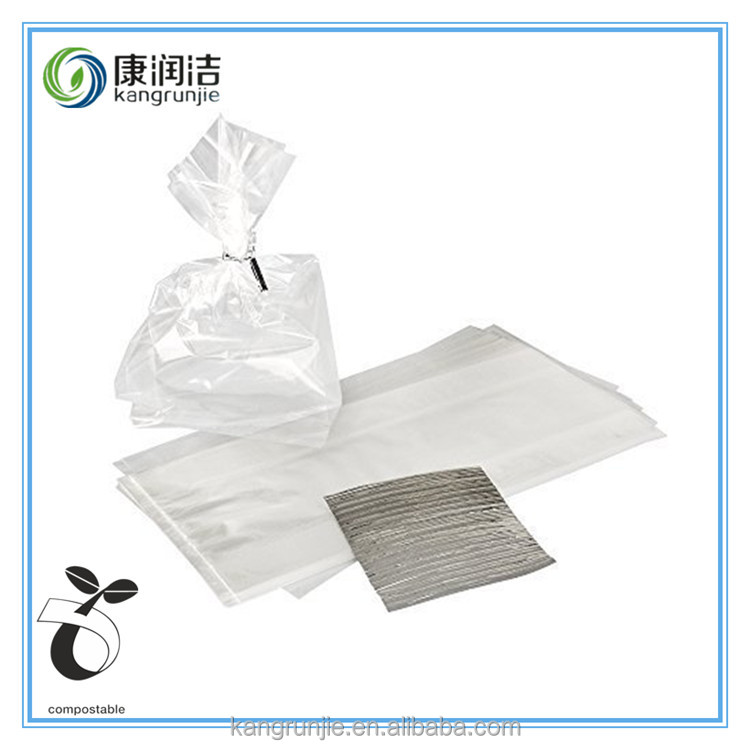 biodegradable salad clear plastic bag