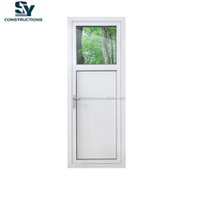 2017 new design Australia standard AS2208 AS1288 AS2047 certified aluminum hinged door