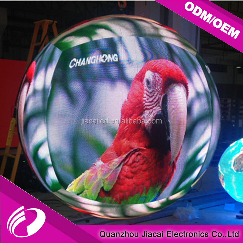 Full Color 360 Degree Sphere LED Display/LED Ball Display